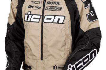 Мотокуртка Icon Team Merc Stage 2