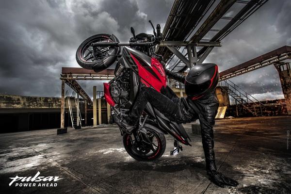 МОТОЦИКЛ BAJAJ PULSAR NS200  Артмото - купить квадроцикл в украине и харькове, мотоцикл, снегоход, скутер, мопед, электромобиль