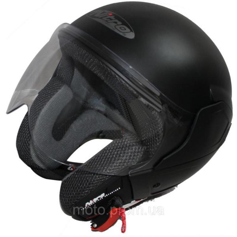 МОТОШЛЕМ NITRO NGJP UNO SATIN BLACK  Артмото - купить квадроцикл в украине и харькове, мотоцикл, снегоход, скутер, мопед, электромобиль