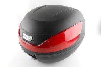 Кофр LUX МАТовый черный отстегивающийся HF-866 430*410*315мм