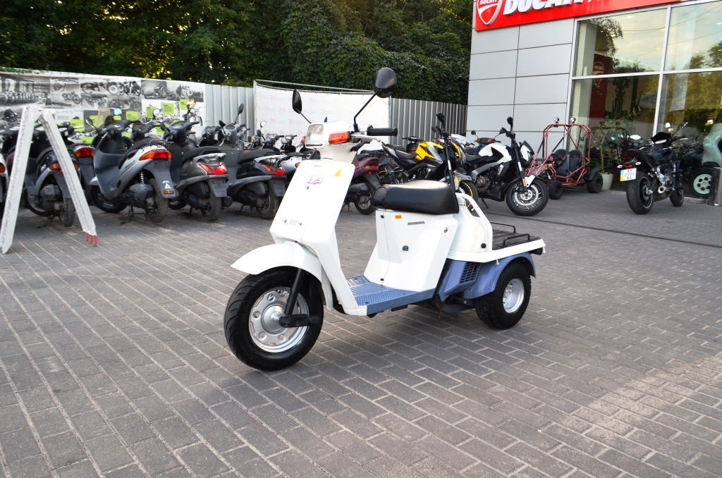 МОПЕД HONDA GYRO UP  Артмото - купить квадроцикл в украине и харькове, мотоцикл, снегоход, скутер, мопед, электромобиль