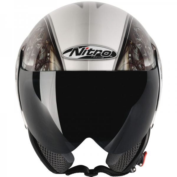 МОТОШЛЕМ NITRO NGJP MECHANIKA  Артмото - купить квадроцикл в украине и харькове, мотоцикл, снегоход, скутер, мопед, электромобиль