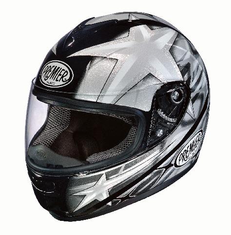 МОТОШЛЕМ PREMIER MONZA 2011 SILVER  Артмото - купить квадроцикл в украине и харькове, мотоцикл, снегоход, скутер, мопед, электромобиль