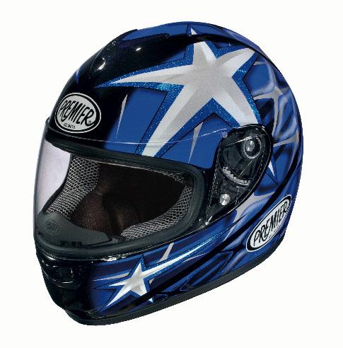 МОТОШЛЕМ PREMIER MONZA 2011 BLUE  Артмото - купить квадроцикл в украине и харькове, мотоцикл, снегоход, скутер, мопед, электромобиль