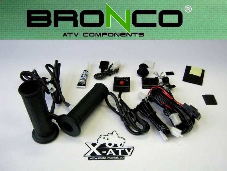 Ручки с подогревом на квадроцикл BRONCO  Артмото - купить квадроцикл в украине и харькове, мотоцикл, снегоход, скутер, мопед, электромобиль