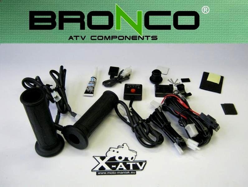 Ручки с подогревом на квадроцикл BRONCO ― Артмото - купить квадроцикл в украине и харькове, мотоцикл, снегоход, скутер, мопед, электромобиль