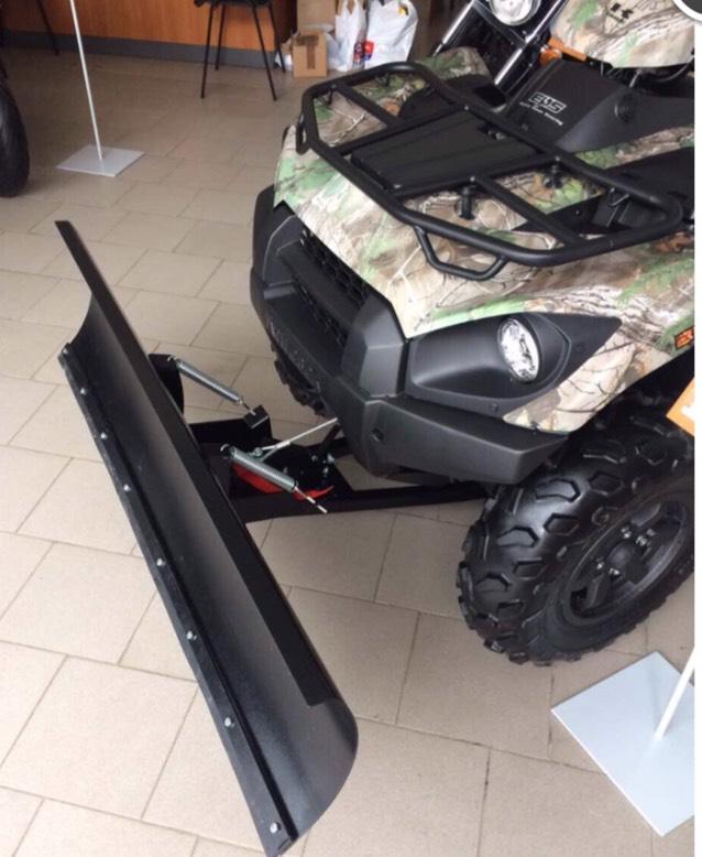 Отвал (ковш) для UTV и ATV  Артмото - купить квадроцикл в украине и харькове, мотоцикл, снегоход, скутер, мопед, электромобиль