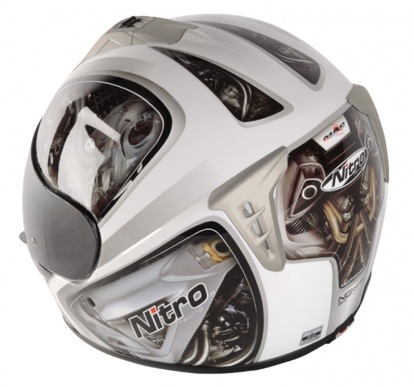 МОТОШЛЕМ NITRO NGFP MECHANIKA  Артмото - купить квадроцикл в украине и харькове, мотоцикл, снегоход, скутер, мопед, электромобиль
