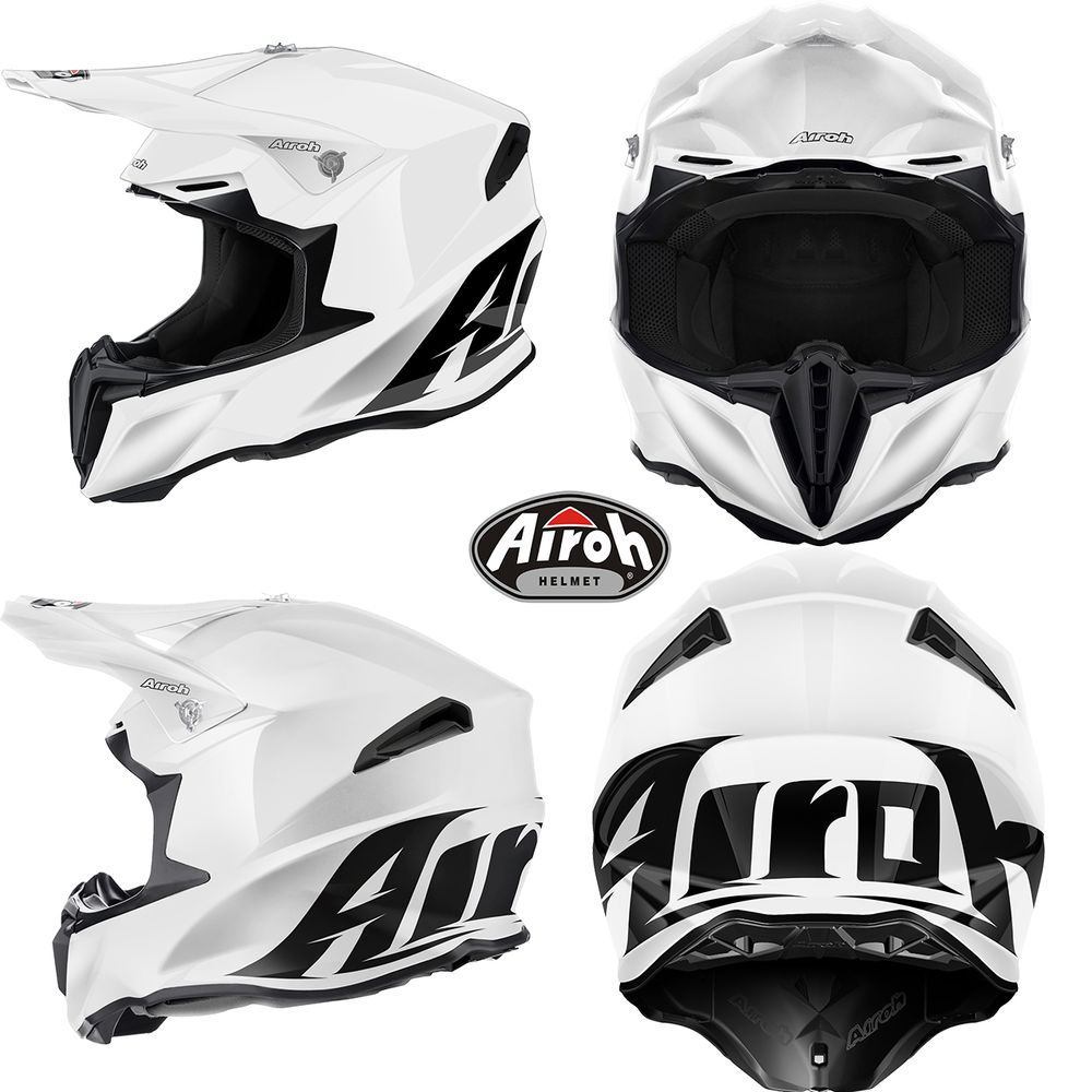 МОТОШЛЕМ AIROH TWIST White  Артмото - купить квадроцикл в украине и харькове, мотоцикл, снегоход, скутер, мопед, электромобиль