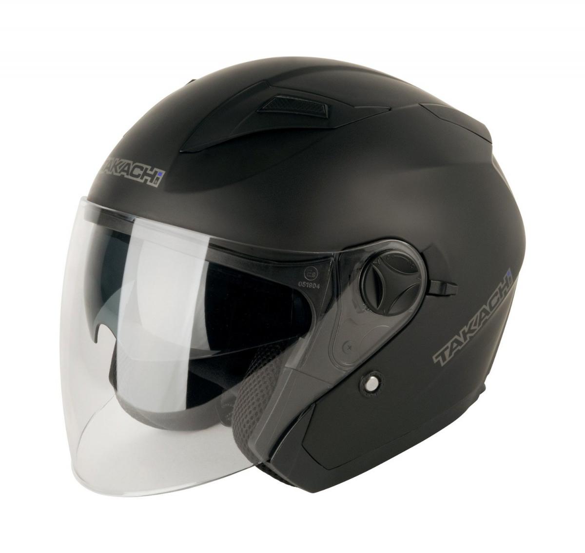 МОТОШЛЕМ TAKACHI TKR-27 SATIN BLACK  Артмото - купить квадроцикл в украине и харькове, мотоцикл, снегоход, скутер, мопед, электромобиль