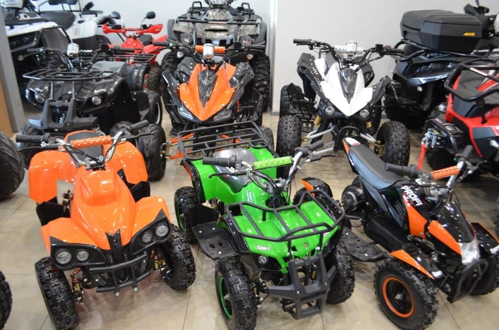 Новые детские и подростковые Электро ATV в мотосалоне Артмото.