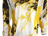 Джерси Fox encore white yellow