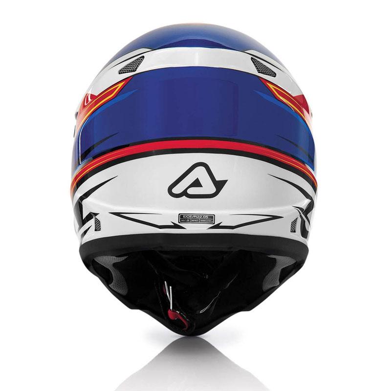 МОТОШЛЕМ ACERBIS IMPACT 2016 RED BLUE  Артмото - купить квадроцикл в украине и харькове, мотоцикл, снегоход, скутер, мопед, электромобиль