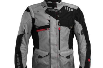 Мотокуртка Acerbis Adventure Jacket Black Grey