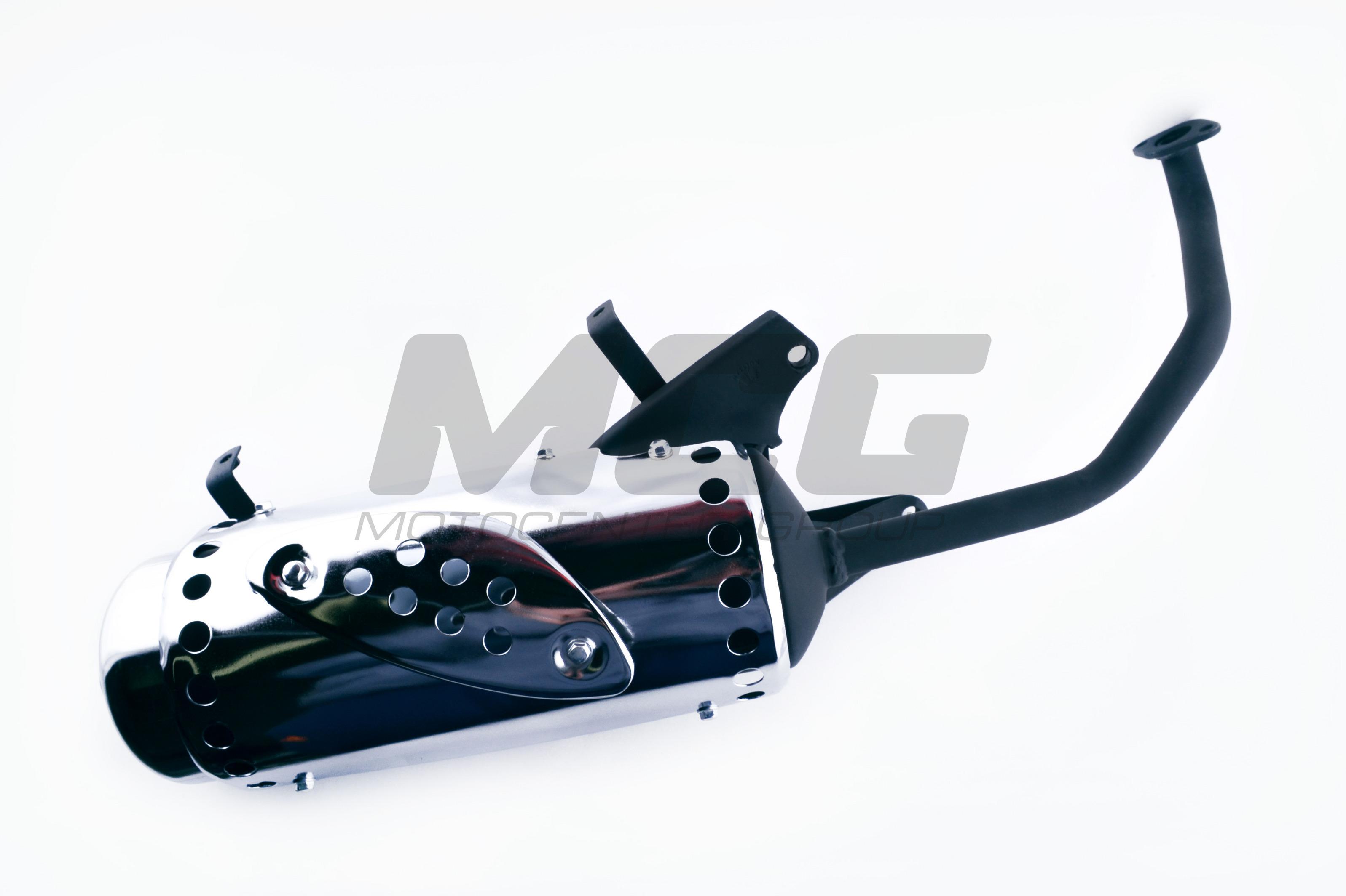 """Глушитель 4T GY6 125/150 """"NZR"""" (черный)"""