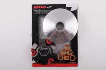 """Вариатор передний (тюнинг) 4T Stels 150 (медно-граф. втулка, ролики латунь) """"KOSO"""""""