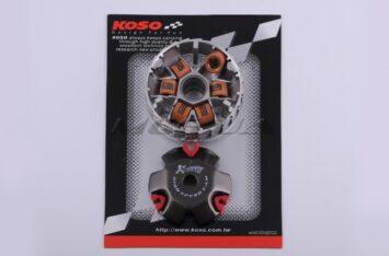"""Вариатор передний (тюнинг) Honda DIO AF18 (медно-граф. втулка, ролики латунь) """"KOSO"""""""