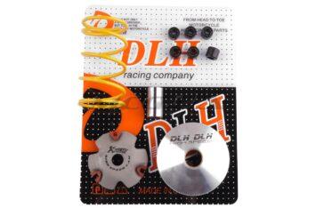 """Вариатор передний (тюнинг) Honda DIO AF34 (+палец, ролики 6шт, пружина торкдрайвера) """"DLH"""""""
