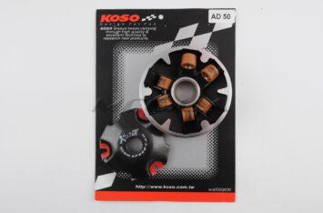"""Вариатор передний (тюнинг) Suzuki AD50 (медно-граф. втулка, ролики латунь) """"KOSO"""""""