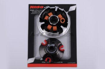"""Вариатор передний (тюнинг) Yamaha BW'S 100 (медно-граф. втулка, ролики латунь) """"KOSO"""""""