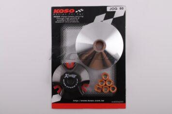 "Вариатор передний (тюнинг) Yamaha JOG 50 (d-13mm, медно-граф. втулка, ролики 8г латунь) ""KOSO"""