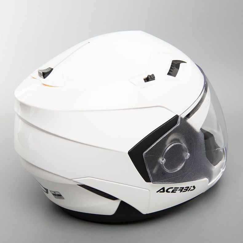 МОТОШЛЕМ ACERBIS CROSSOVER STRATOS WHITE  Артмото - купить квадроцикл в украине и харькове, мотоцикл, снегоход, скутер, мопед, электромобиль