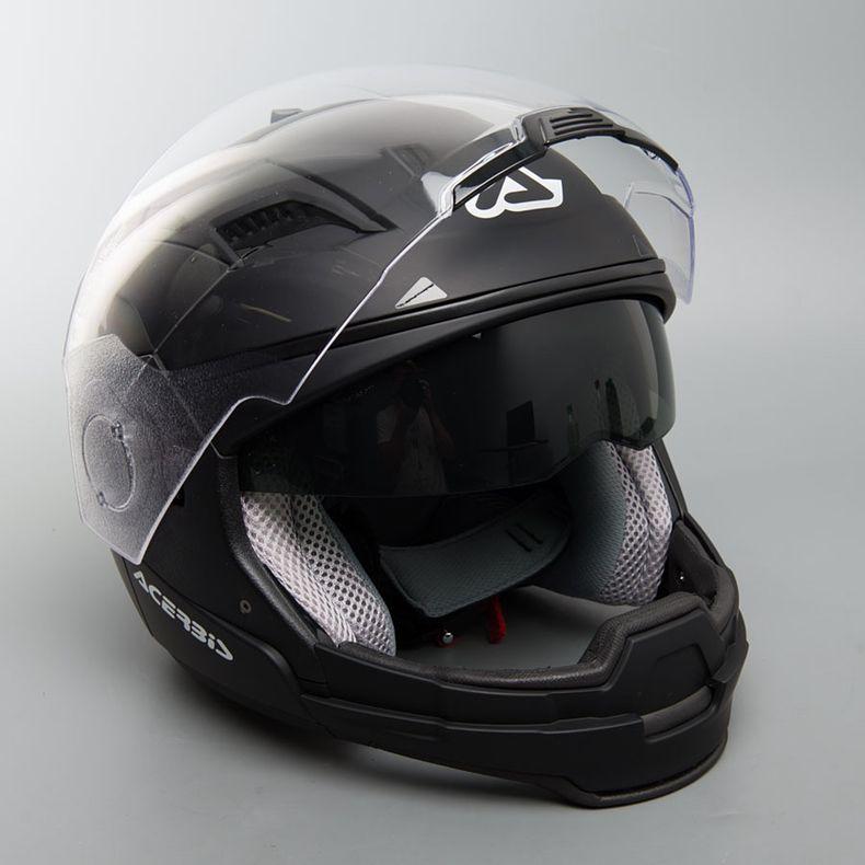 МОТОШЛЕМ ACERBIS CROSSOVER STRATOS BLACK  Артмото - купить квадроцикл в украине и харькове, мотоцикл, снегоход, скутер, мопед, электромобиль