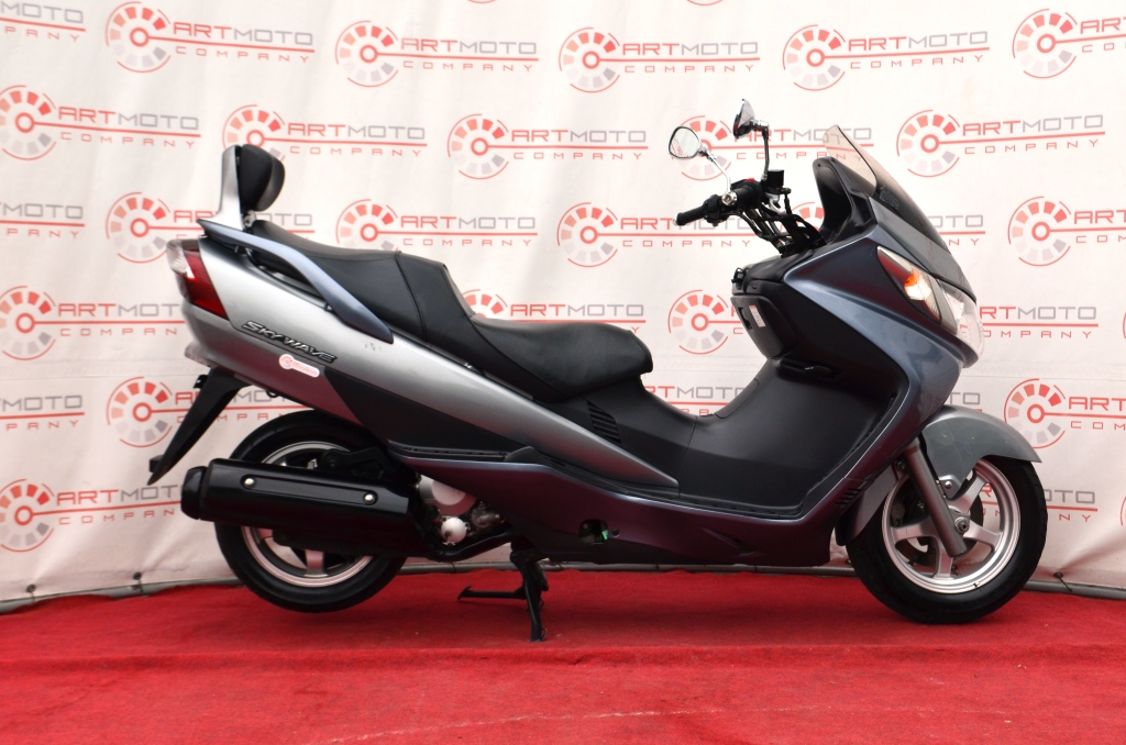МАКСИ-СКУТЕР SUZUKI SKYWAVE 400-CK43A  Артмото - купить квадроцикл в украине и харькове, мотоцикл, снегоход, скутер, мопед, электромобиль