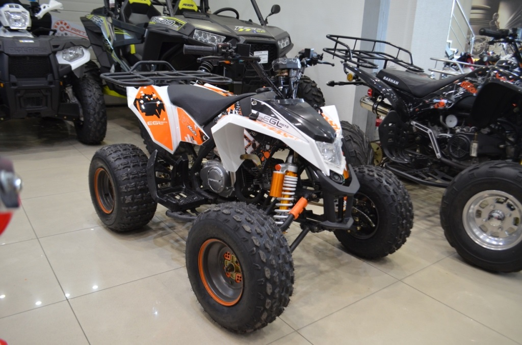 Новая модель подросткового квадроцикла EGL Raptor XT125 в Артмото