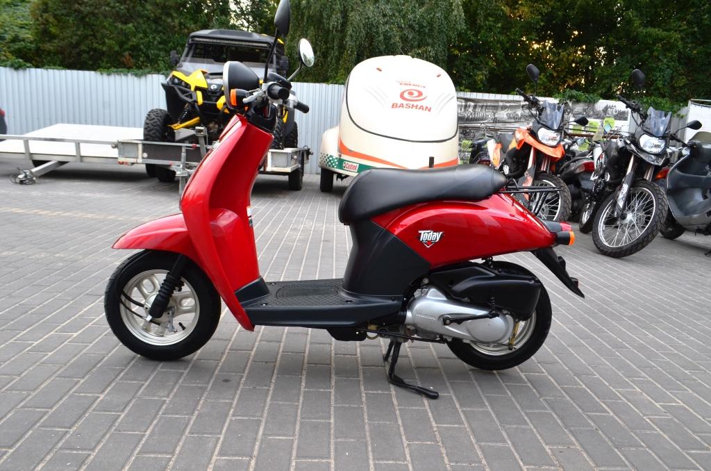 МОПЕД HONDA TODAY AF61 ― Артмото - купить квадроцикл в украине и харькове, мотоцикл, снегоход, скутер, мопед, электромобиль