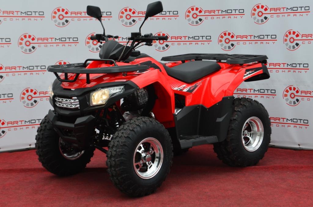 КВАДРОЦИКЛ LONCIN LX200ATV-U  Артмото - купить квадроцикл в украине и харькове, мотоцикл, снегоход, скутер, мопед, электромобиль