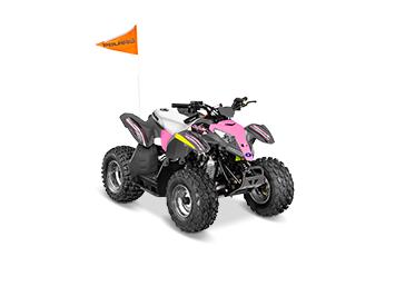 ДЕТСКИЙ КВАДРОЦИКЛ POLARIS OUTLAW 50 Pink Power ― Артмото - купить квадроцикл в украине и харькове, мотоцикл, снегоход, скутер, мопед, электромобиль