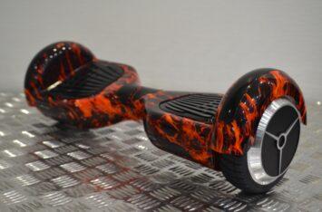 ГИРОБОРД SAMRTWAY BW-S 6,5 Flame red