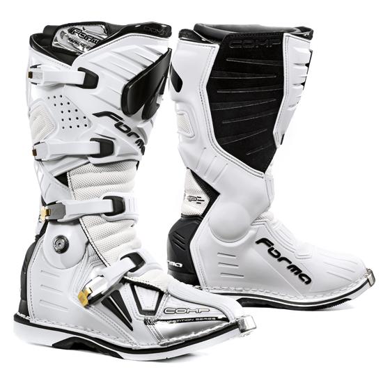 Мотоботы Forma Dominator White  Артмото - купить квадроцикл в украине и харькове, мотоцикл, снегоход, скутер, мопед, электромобиль