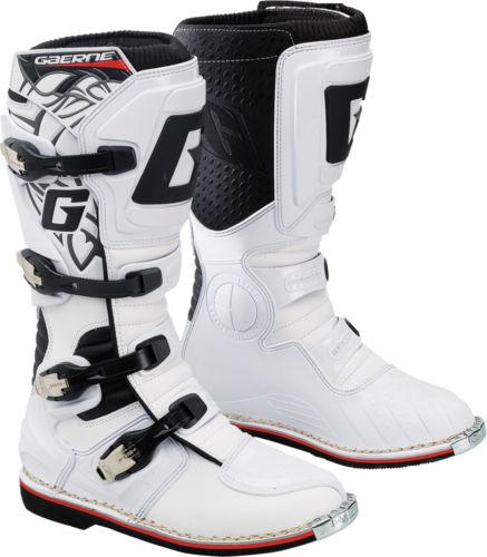 Мотоботы Gaerne GX-1 White  Артмото - купить квадроцикл в украине и харькове, мотоцикл, снегоход, скутер, мопед, электромобиль