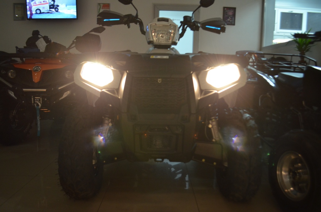 Комплект LED ламп PHILIPS H7  Артмото - купить квадроцикл в украине и харькове, мотоцикл, снегоход, скутер, мопед, электромобиль