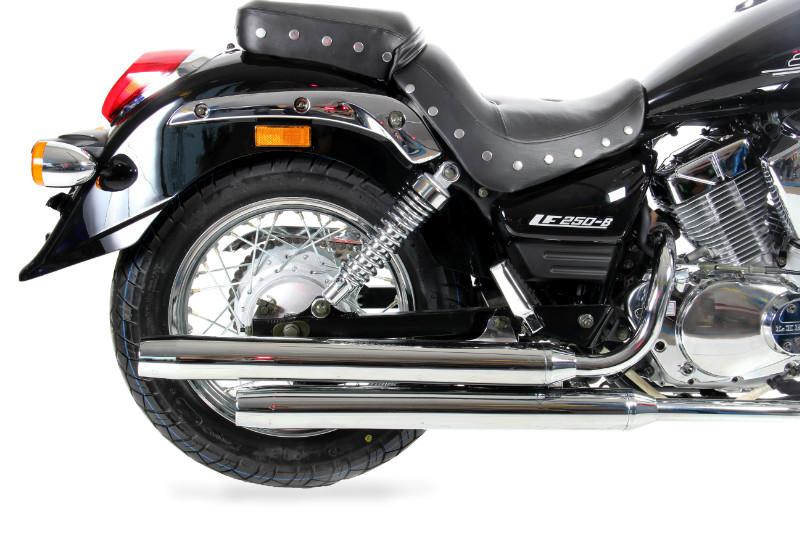 МОТОЦИКЛ LIFAN LF250-B Black  Артмото - купить квадроцикл в украине и харькове, мотоцикл, снегоход, скутер, мопед, электромобиль