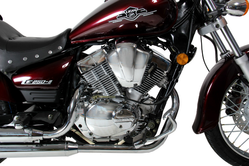МОТОЦИКЛ LIFAN LF250-B Red ― Артмото - купить квадроцикл в украине и харькове, мотоцикл, снегоход, скутер, мопед, электромобиль