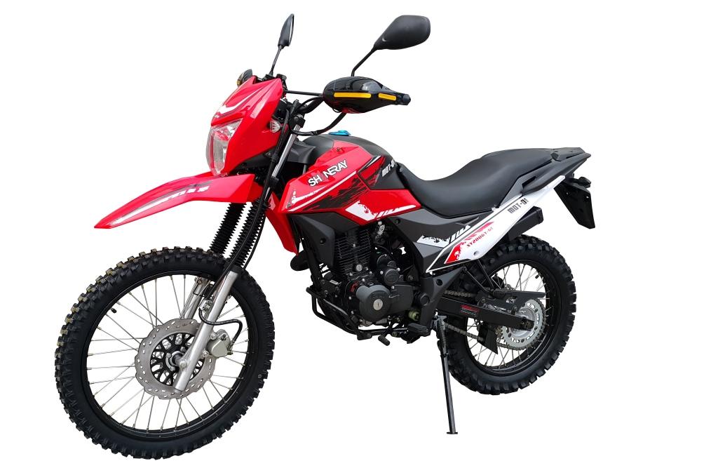 МОТОЦИКЛ SHINERAY XY 200GY-6C CROSS Red ― Артмото - купить квадроцикл в украине и харькове, мотоцикл, снегоход, скутер, мопед, электромобиль