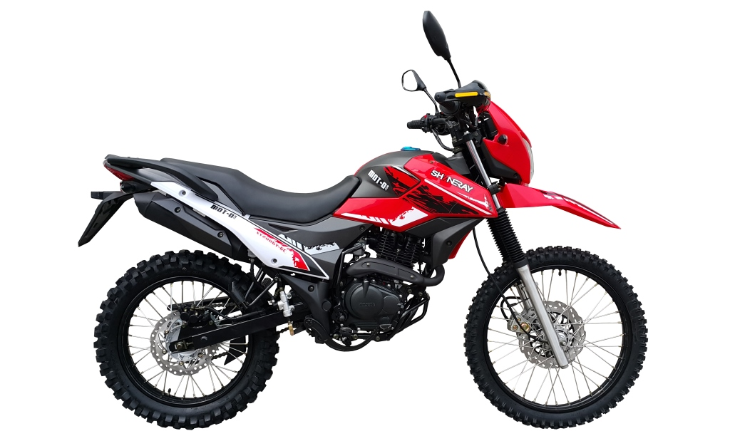 МОТОЦИКЛ SHINERAY XY 200GY-6C CROSS Red  Артмото - купить квадроцикл в украине и харькове, мотоцикл, снегоход, скутер, мопед, электромобиль