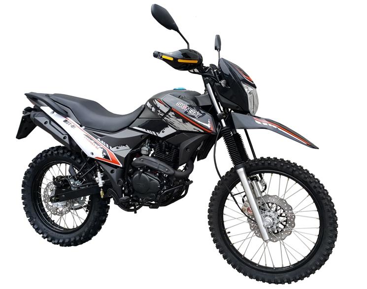 МОТОЦИКЛ SHINERAY XY 200GY-6C CROSS Black ― Артмото - купить квадроцикл в украине и харькове, мотоцикл, снегоход, скутер, мопед, электромобиль