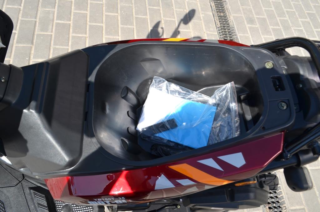 СКУТЕР YIBEN YB150T-35 BWS ― Артмото - купить квадроцикл в украине и харькове, мотоцикл, снегоход, скутер, мопед, электромобиль