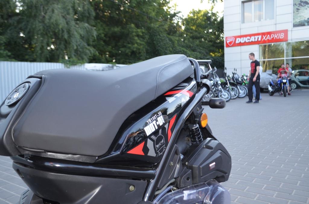 СКУТЕР FADA YB150T-35 BWS Ожидается ― Артмото - купить квадроцикл в украине и харькове, мотоцикл, снегоход, скутер, мопед, электромобиль
