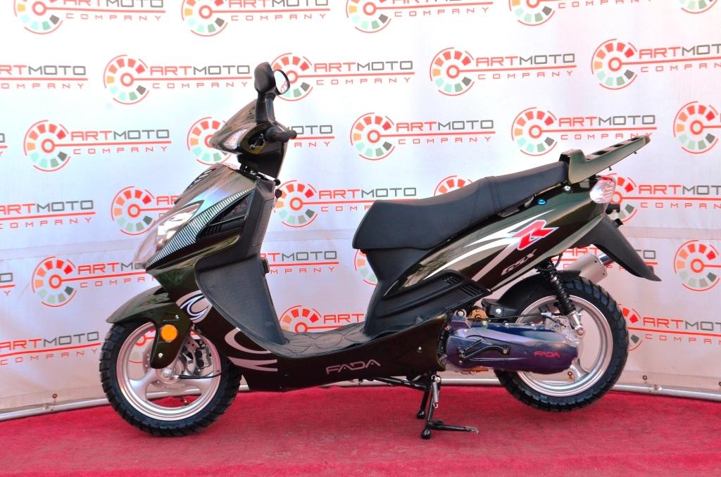 СКУТЕР FADA YB150T-15D  Артмото - купить квадроцикл в украине и харькове, мотоцикл, снегоход, скутер, мопед, электромобиль