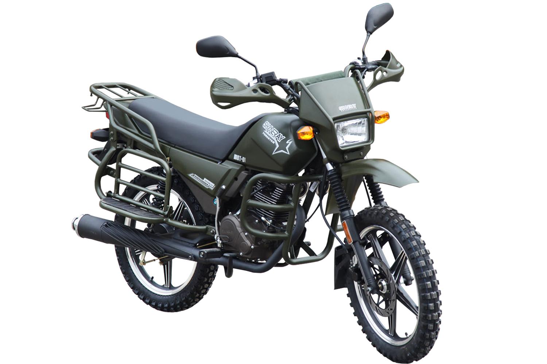 МОТОЦИКЛ SHINERAY XY 150 FORESTER Military green ― Артмото - купить квадроцикл в украине и харькове, мотоцикл, снегоход, скутер, мопед, электромобиль