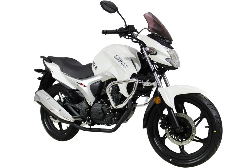 МОТОЦИКЛ LIFAN KP200 (IROKEZ 200) White Orchid ― Артмото - купить квадроцикл в украине и харькове, мотоцикл, снегоход, скутер, мопед, электромобиль