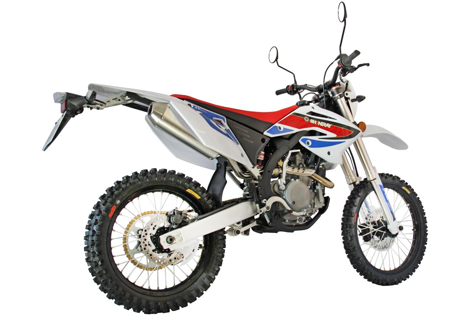 МОТОЦИКЛ SHINERAY XY 250GY-7 (X6) White ― Артмото - купить квадроцикл в украине и харькове, мотоцикл, снегоход, скутер, мопед, электромобиль