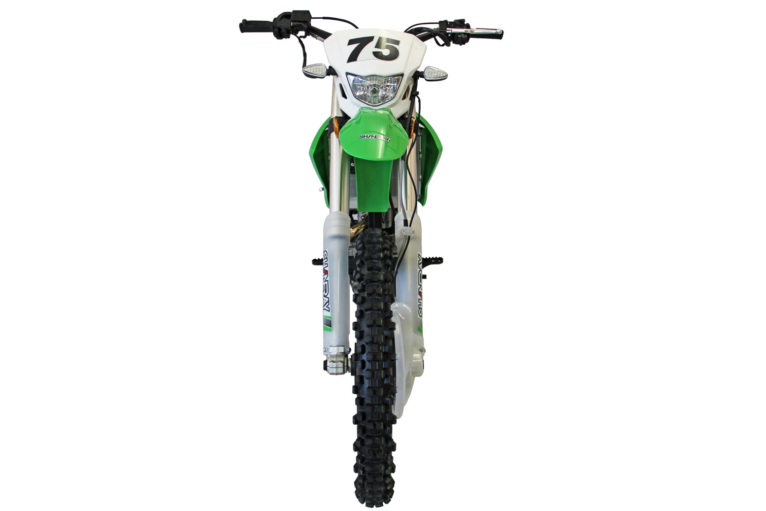 МОТОЦИКЛ SHINERAY XY 250GY-7 (X6) Green ― Артмото - купить квадроцикл в украине и харькове, мотоцикл, снегоход, скутер, мопед, электромобиль