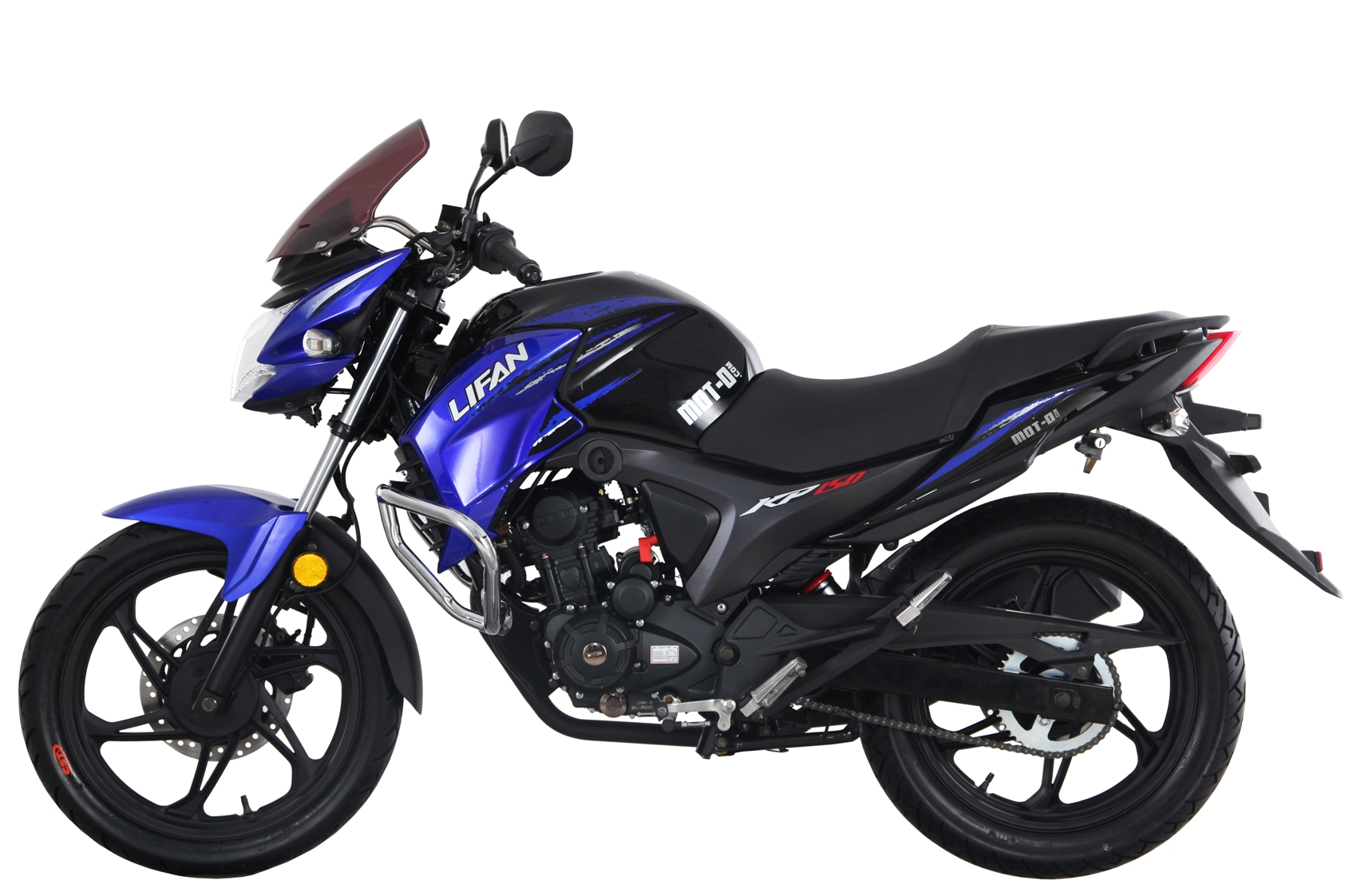 МОТОЦИКЛ LIFAN KP150 (LIFAN IROKEZ) Blue  Артмото - купить квадроцикл в украине и харькове, мотоцикл, снегоход, скутер, мопед, электромобиль
