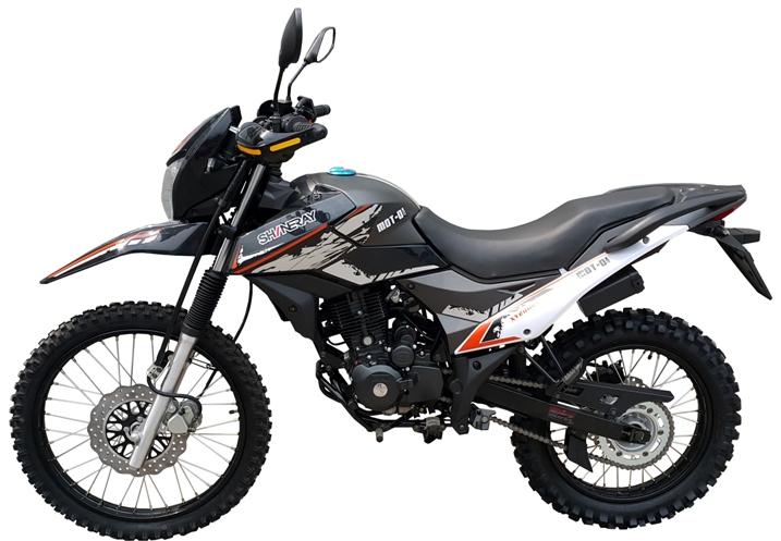 МОТОЦИКЛ SHINERAY XY 200GY-6C CROSS Black  Артмото - купить квадроцикл в украине и харькове, мотоцикл, снегоход, скутер, мопед, электромобиль